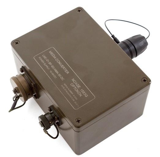 LMC-01.BF  Fast Ethernet Media Converter Ruggedized type