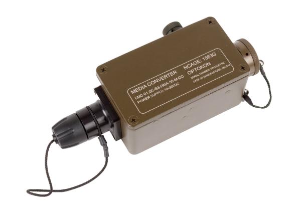 LMC-01.GC Gigabit Ethernet  Mini Media Converter Ruggedized type
