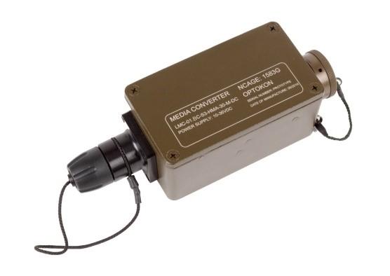 LMC-01.BC  Fast Ethernet Media Converter Ruggedized type