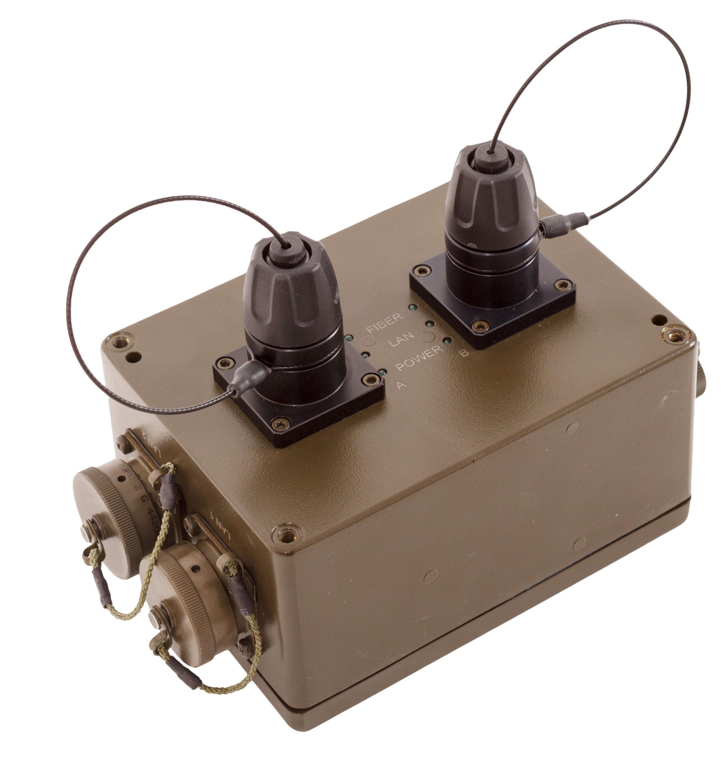 LMC-02.GF Gigabit Ethernet Media Converter Ruggedized type