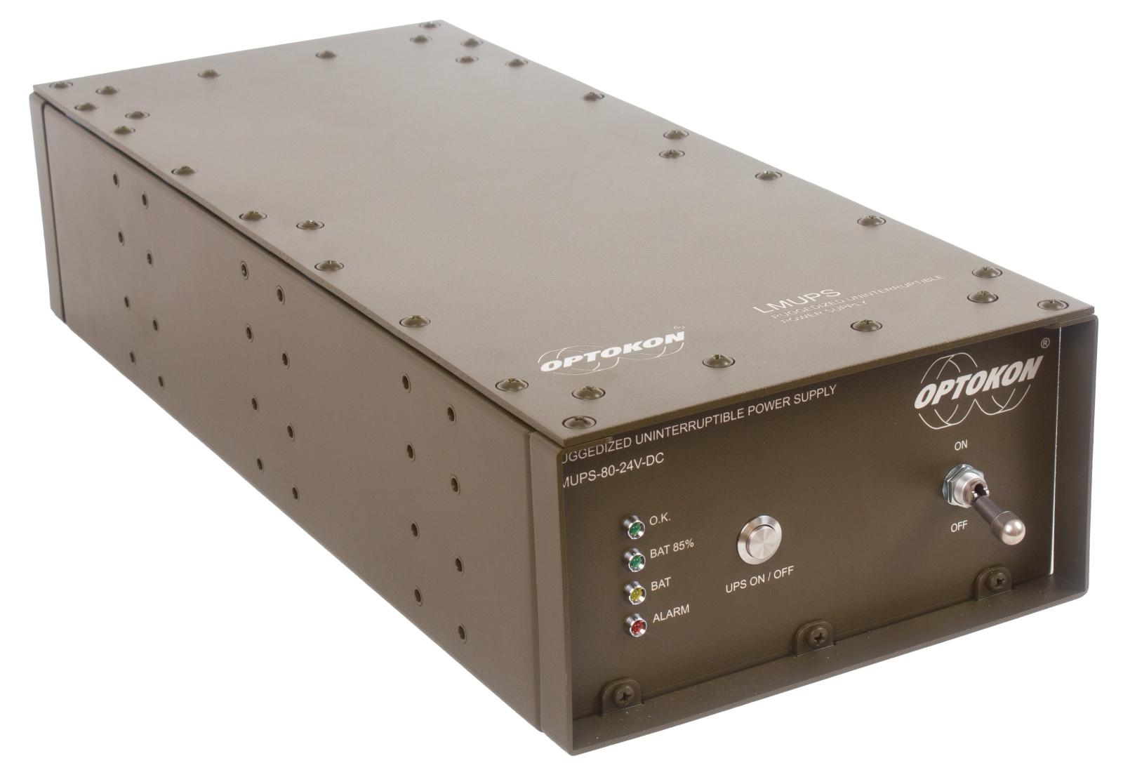 LMUPS-80-24V Ruggedized Uninterruptible Power Supply