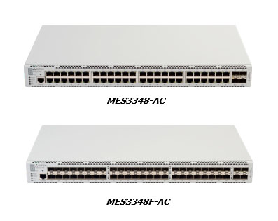 Ethernet switches MES3348 + MES3348F