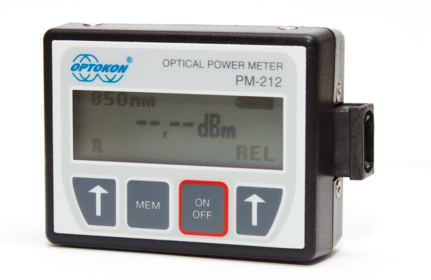 PM-212-MPO Pocket optical power meter USB probe