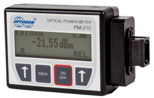 PM-212-MTP-GE Multifiber optical power meter