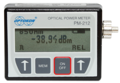 PM-212-SI3 Pocket optical power meter USB probe
