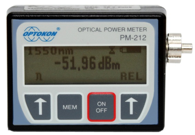 PM-212-CWDM Pocket optical power meter USB probe