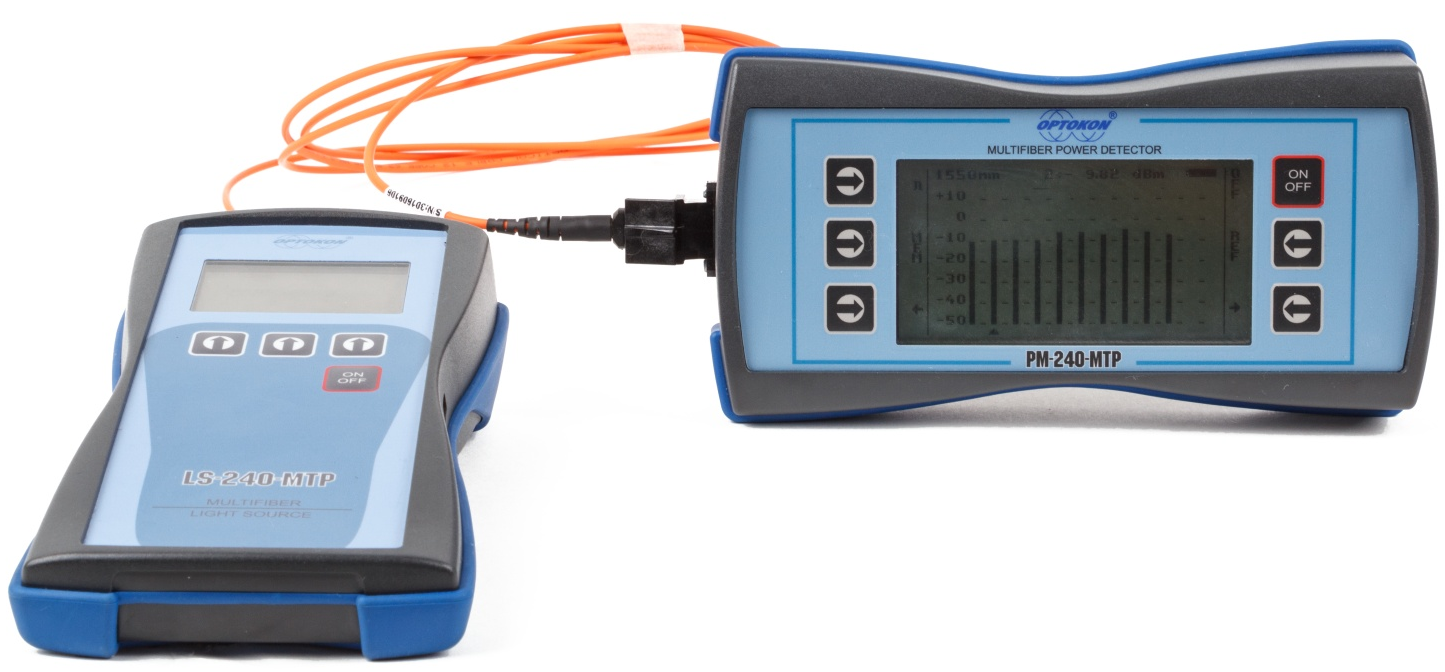 PM-240-MTP Multifiber Optical Power Meter