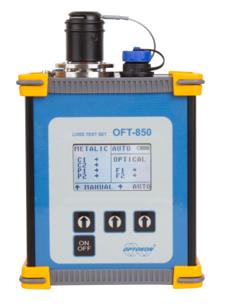 OFT-850 SMPTE Hybrid Cable Test Set