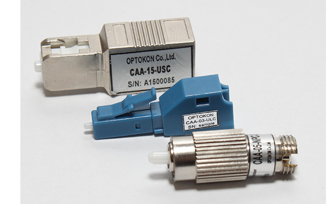 Plug-Type (Male Female) Attenuators CAA series - Singlemode